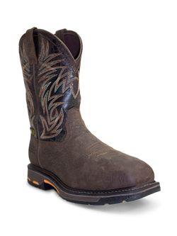 Mens AriatWorkhog Wide Square Toe H2O Composite Work Boots