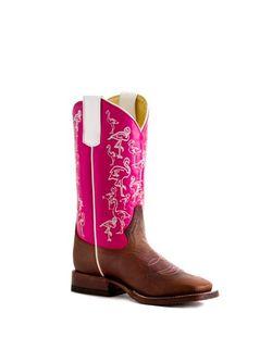Girls Macie Bean Pink Flamingo