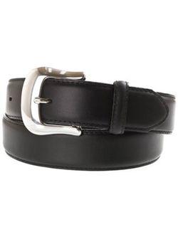 Men's Brighton 1 3/8 Black Longhorn Belt