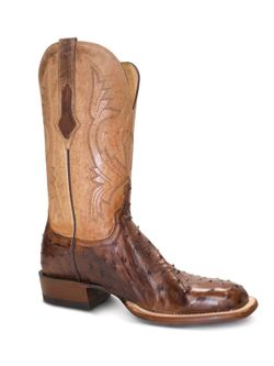 Men's Lucchese Antique Saddle Full Quill Ostrich