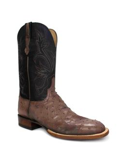 Men's Lucchese Antique Mocha Full Quill