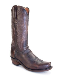 Men's Lucchese Antique Pearwood Tan Goat