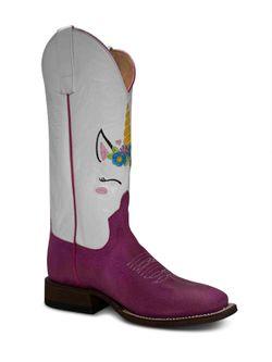 Ladies Macie Bean Unicorn Boots