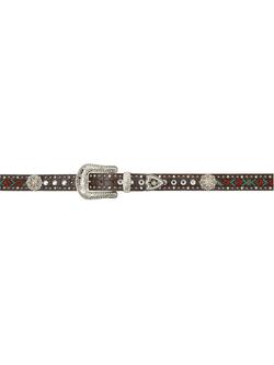 Ladies Angel Ranch Turquoise Beaded Belt