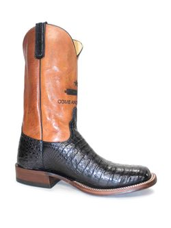 Men's Anderson Bean Black Caiman Come & Take It