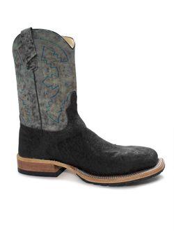 Men's Anderson Bean Chocolate Elephant Steel Toe Work Boots