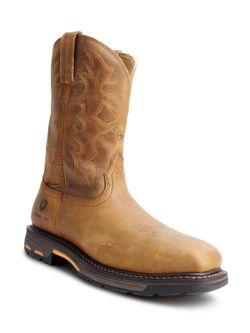 Mens Ariat Workhog Toast Steel Toe Work Boots