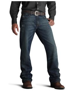 Mens Ariat M4 Low Rise Boot Tabac Jeans