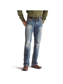 Mens Ariat M5 Slim Gambler Stackable Straight Leg Jeans