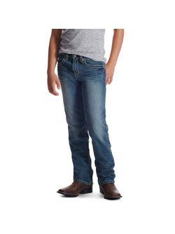Kids Ariat B4 Keene Boot Cut Relaxed Jeans