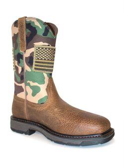 Men's Ariat Earthwood Camo Patriot Boots
