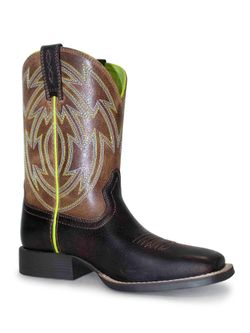 Kids Ariat Cross Draw Dark Brown