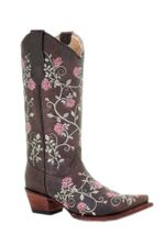 Ladies-Circle-G-by-Corral-Brown-Floral-Embroider-227815