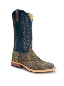 Men's Anderson Bean Saddle Safari Giraffe Teal
