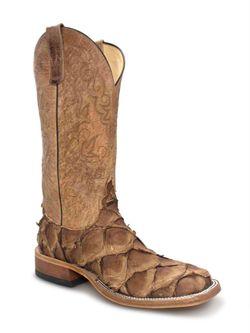Mens Anderson Bean Tan Cigar Big Bass Cowboy Boots