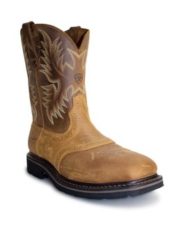 Mens Ariat Heat Resistant Sierra Steel Toe Work Boot