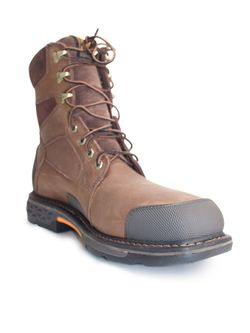 """Mens Ariat 8"""" Overdrive Composite Toe Work Boots"""