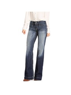 Ladies Ariat Entwined Marine Trouser