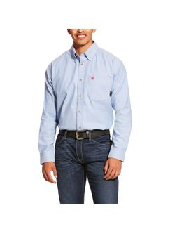 Men's Ariat Fire Resistant Blue Twill