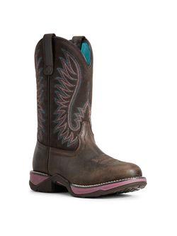Ladies Ariat Anthem Acorn Work Boots