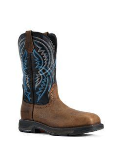 Men's Ariat Workhog Steel Toe Xt Coil Boots