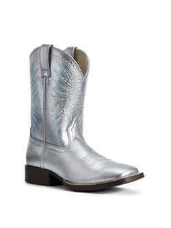 Girls Ariat Rodeo Jane Shining Silver