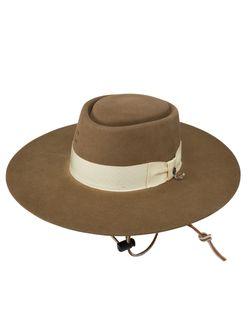 Ladies Charlie One Horse Big Tease Pecan Wool Hat