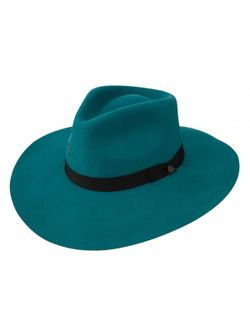 Ladies Charlie One Horse Highway Teal Wool Hat