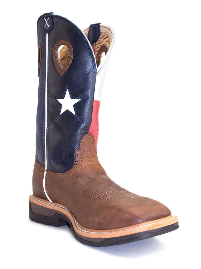 Twisted X Texas Flag Steel Toe Work