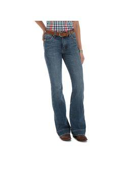 Ladies Wrangler Light Blue Trousers