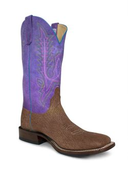 Men's Anderson Bean Tan Amazon Goat Purple Sensation