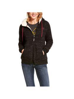 Ladies Ariat Fleece Full Zip Sweatshirt Jacket