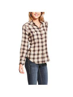 Ladies Ariat Real Billie Jean Smokey Shirt Long Sleeve Shirt