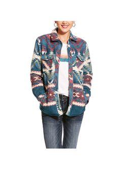Ladies Ariat Real Shacket Serape Jacket