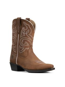 Kids Ariat Spice Nutmeg