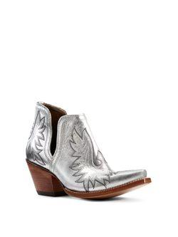Ladies Ariat Dixon Silver Metallc