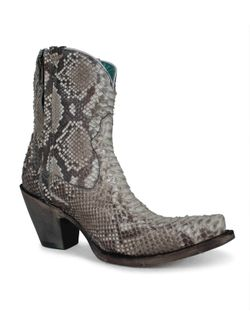 Ladies Corral Natural Python Ankle