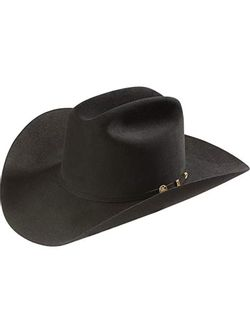 Men's Stetson Black El Presidente 100X Black Felt Hat
