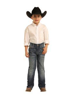 Boys Pandhandle Slim Denim Jeans