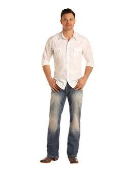 Men's Panhandle Slim Light Denim Jeans
