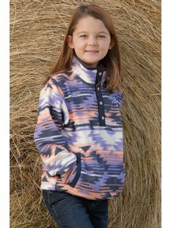 Girls Cinch Pink Fleece