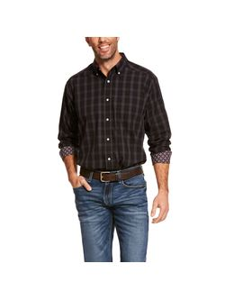 Men's Ariat Clayborne Black Long Sleeve