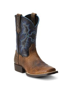 Kids Ariat Blue Tombstone