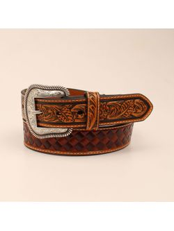 Men's Basket Weave Belt
