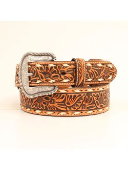 Men's Buck Stitched Tooled