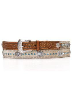 Men's Belt Stones & Bar Belt
