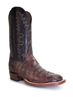 Lucchese Rust Belize Ultra Belly