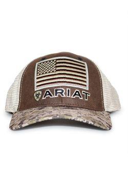 Mens Ariat Patriot Cap