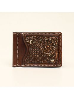 M&F Western Slim-fold Money Clip Wallet