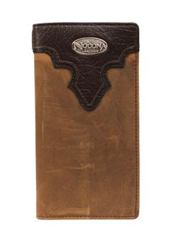 Men's Tall Chocolate and Brown Nocona Wallet